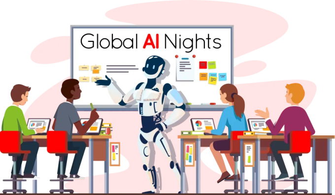 Global AI Nights scale